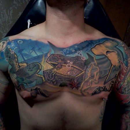 Tattoos - Sea chest - 76501