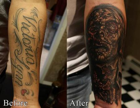 Tattoos - Zombie coverup - 75000