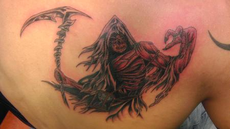 Tattoos - reaper - 85662