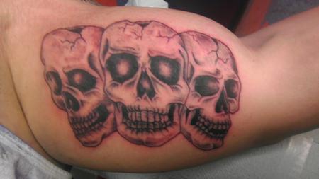 Tattoos - skull - 85686