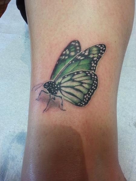 Jordan Campbell - mental health awareness butterfly