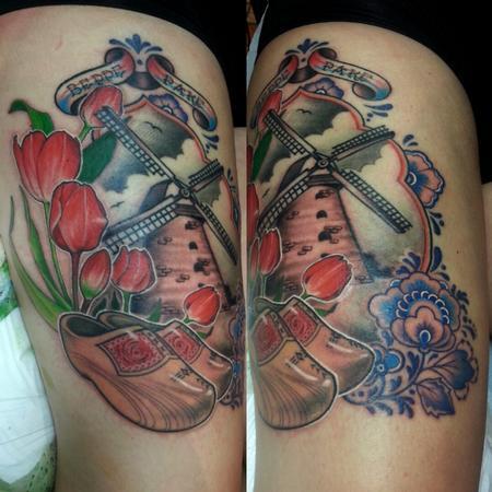 Tattoos - Dutch memorial tattoo - 122334