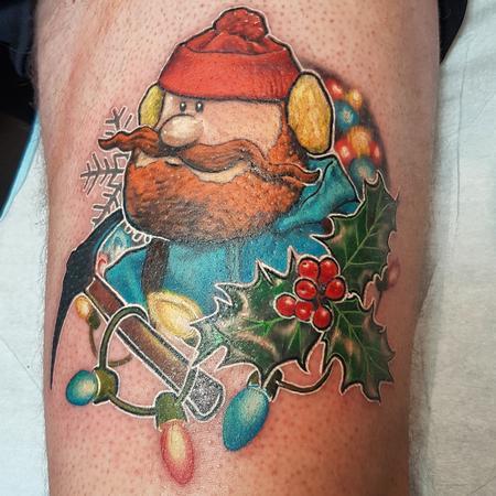 Tattoos - Yukon Cornelius - 126048