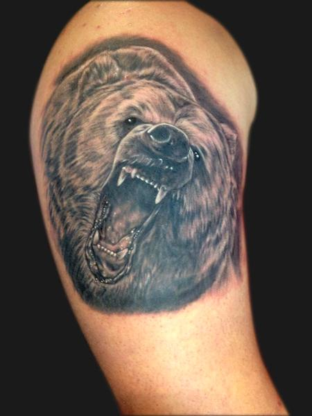 Tattoos - Bear illustration - 95055
