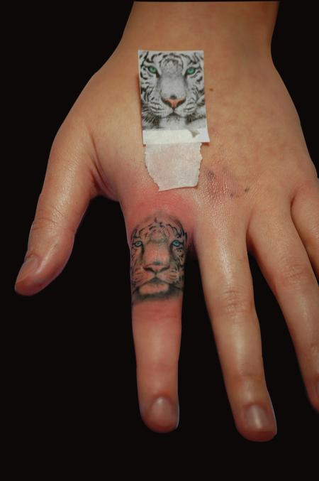 Tattoos - White Tiger  - 86603