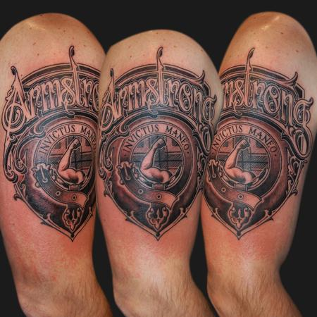 Tattoos - Armstrong Shield - 101672