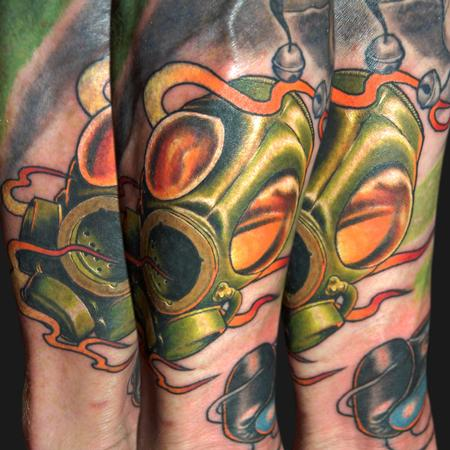 Tattoos - Gas Mask - 103993
