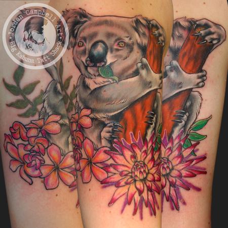 Tattoos - koala - 95984
