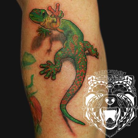 Tattoos - Peace gecko - 126313
