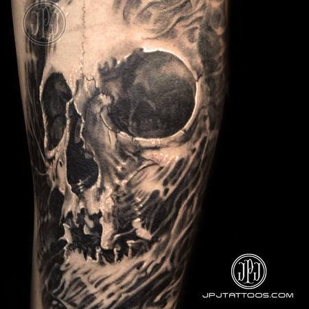 Jose Perez Jr - Skull textured