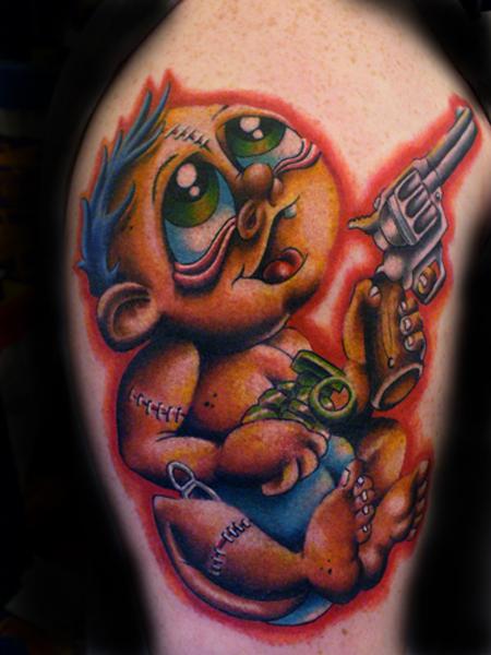 Tattoos - Crazy ass baby!!! - 18466