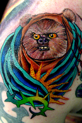 Tattoos - ewok rose morh - 19363