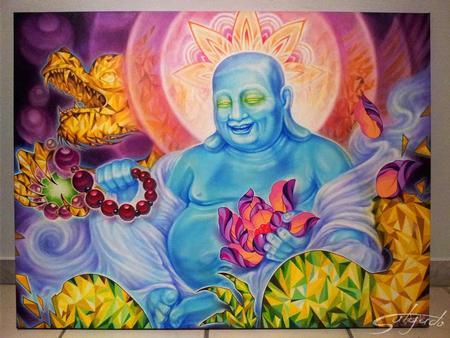 Juan Salgado - Buddhas Epiphiny