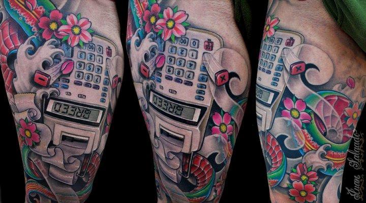Tattoos - greed - 53924