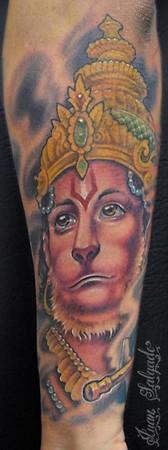 Tattoos - hanuman tattoo - 35511