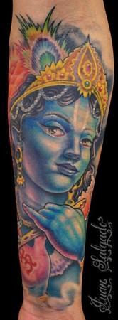 Tattoos - krishna tattoo - 35510