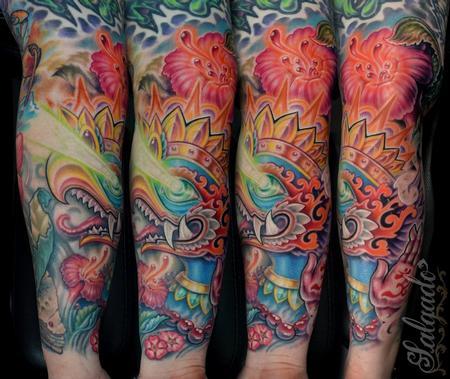 Tattoos - Radiant Garuda - 64841
