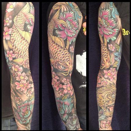 Tattoos - Japanese sleeve - 78340