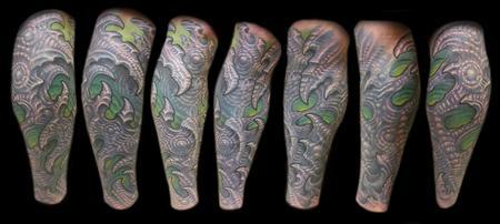 Tattoos - Bio Leg Cover up - 124865