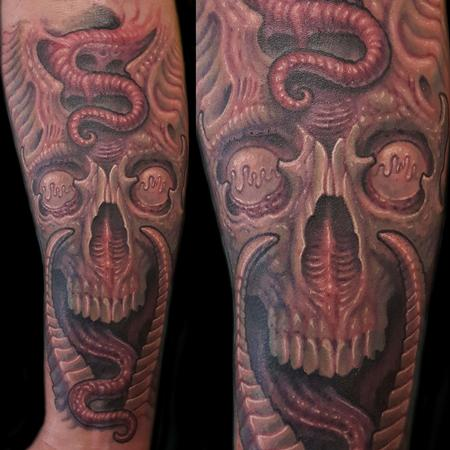 Tattoos - Demon skull - 126371