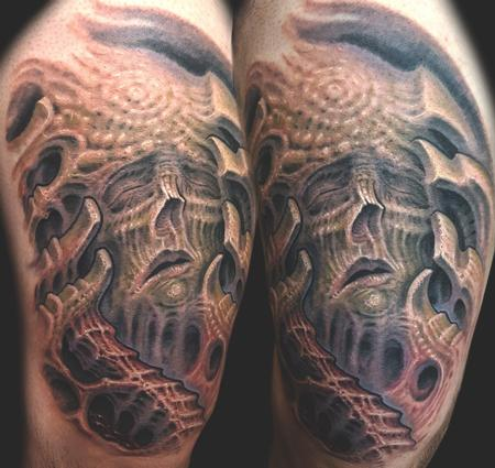 Tattoos - Bioorganic dead head - 126123