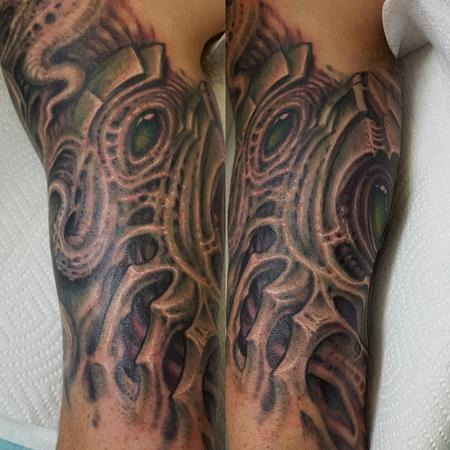 Tattoos - Biomech Tricep - 126734
