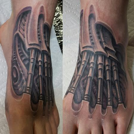 Tattoos - Biomech foot - 126732