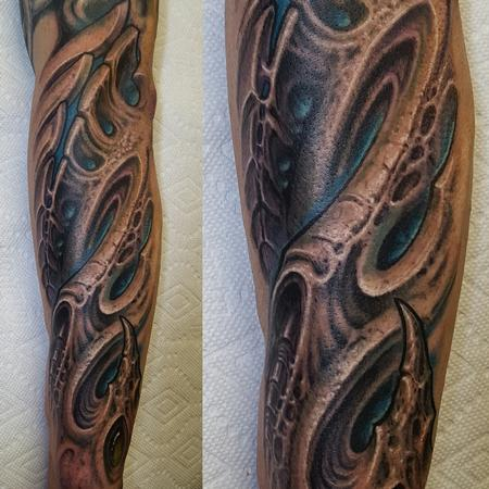 Tattoos - Biomech forearm - 126735