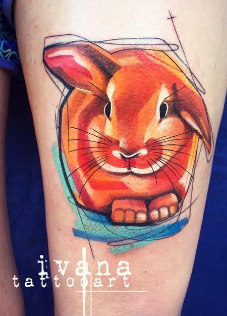 Tattoos - Mochi Bunny - 115573