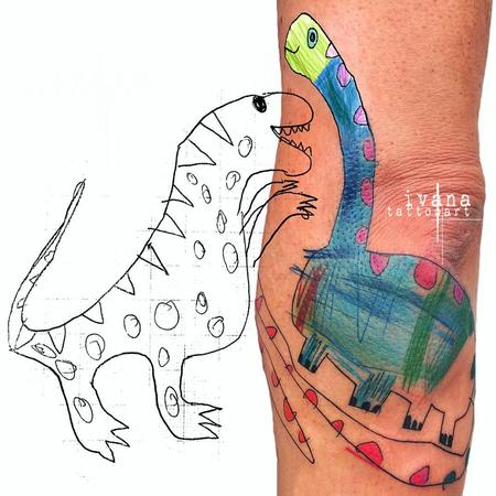 Tattoos - Dinosaur  - 122967
