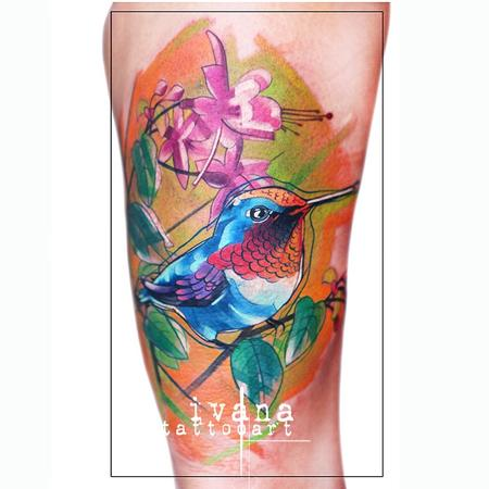 Ivana Tattoo Art - Hummingbird
