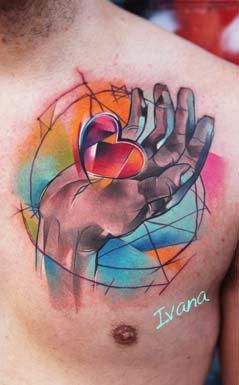 Ivana Tattoo Art - I am giving you my heart..