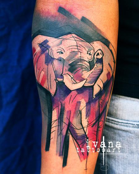 Tattoos - Elephant - 141570