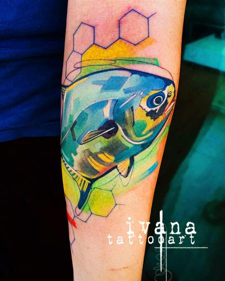 Ivana Tattoo Art - Fish