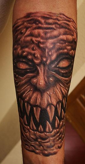 Tattoos - Demon tattoo - 71105