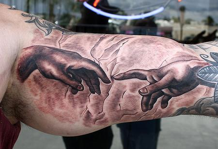 Tattoos - The Creation of Adam - 75788