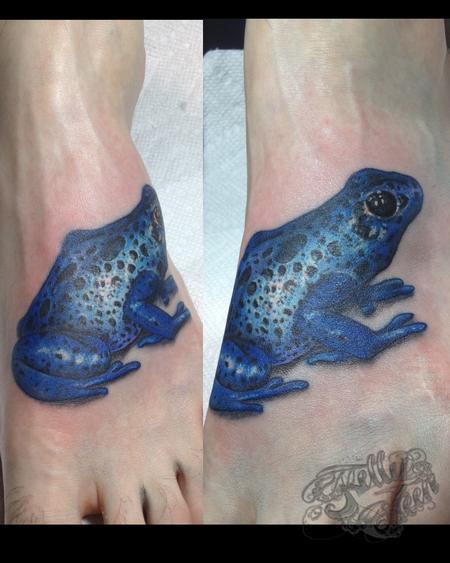 Tattoos - tree frog - 99628