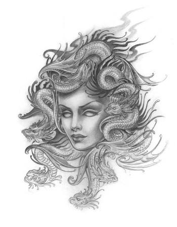 Kim Saigh - Medusa Art
