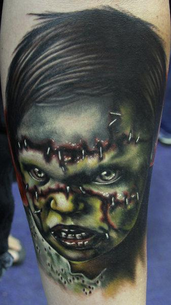 Tattoos - Evil Dead Girl Portrait - 57258