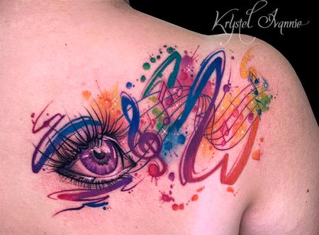 Tattoos - Chromesthesia  - 140379