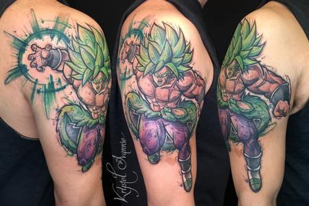 Tattoos - Broly from Dragon Ball Super - 140377