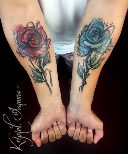Tattoos - Roses - 140365