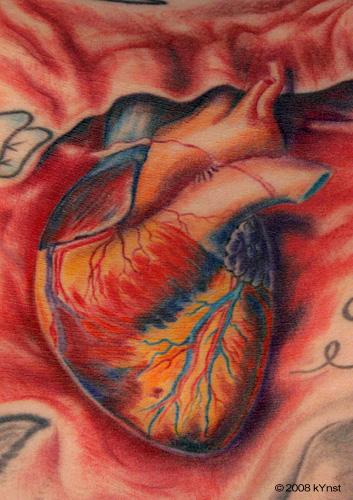 Tattoos - heart - 32329