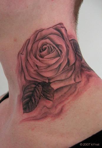 Tattoos - rose - 20587