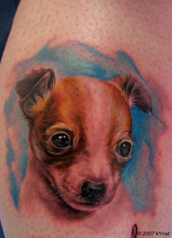 Tattoos - puppy - 20590