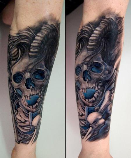 Thomas-kYnst - skull