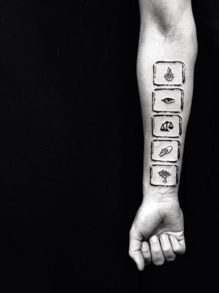Tattoos - Divergent - 100664