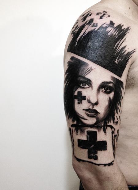 Tattoos - In memory of  - 100665