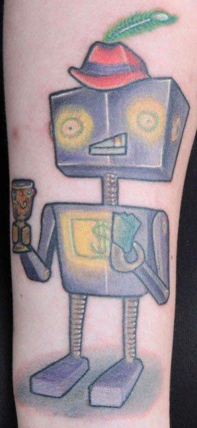 Tattoos - Pimp Bot - 66782