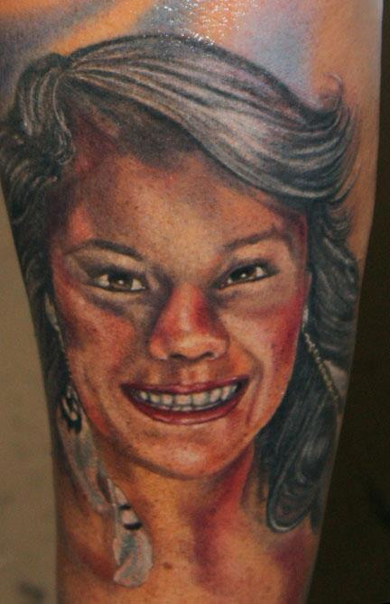 Tattoos - Portrait of daughter - 66773